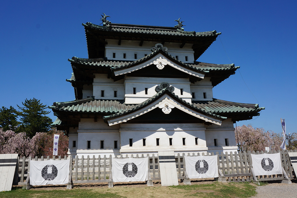 弘前城(青森県)